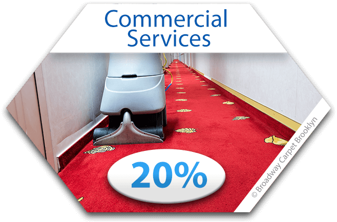 Commercial Carpet Cleaning Coupon - Brooklyn